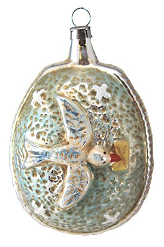 Marolin Carrier Pigeon MA2011091 German Glass Ornament w/Gift Box