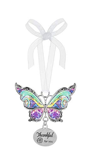 Ganz Butterfly Ornament Thankful for You