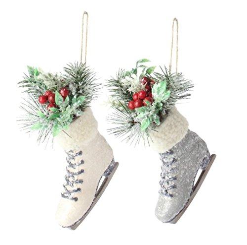 RAZ Imports 7″ Skate Christmas Tree Ornament – Set of 2