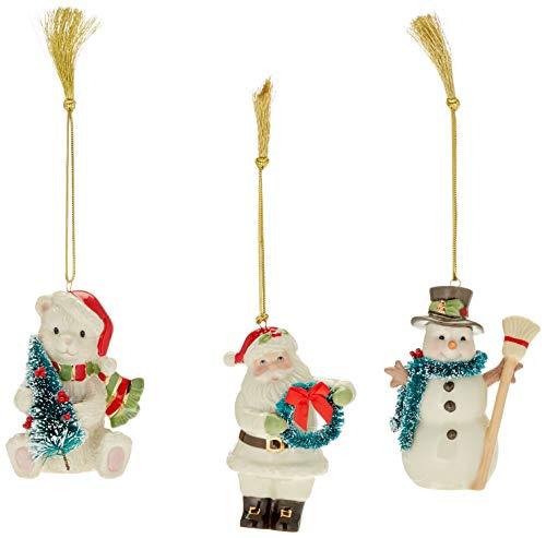 Lenox Winter Wonderland Ornament Set of 3, 3 Piece
