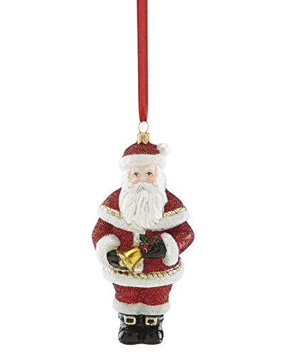 Reed & Barton 877689 Santa with Bell Ornament