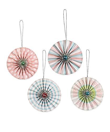 Bethany Lowe Easter Rosette Ornaments