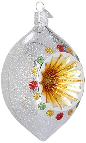 Old World Christmas Glass Blown Ornament Radiant Reflector