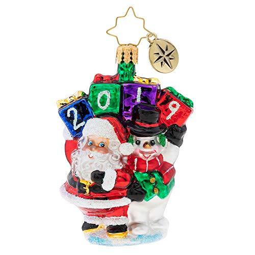 Christopher Radko Holding Up Their End Gem Christmas Ornament