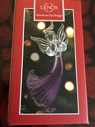 Lenox AMETHYST ANGEL ORNAMENT