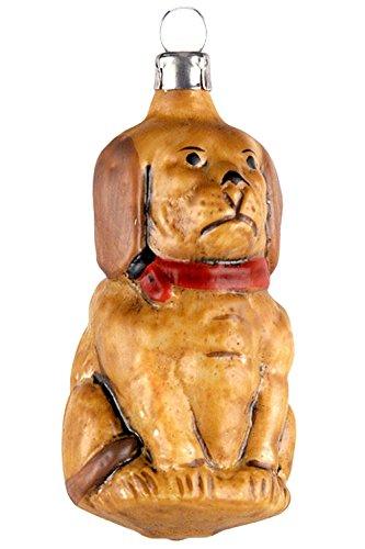 Marolin Dog MA2011056 German Glass Ornament w/Gift Box