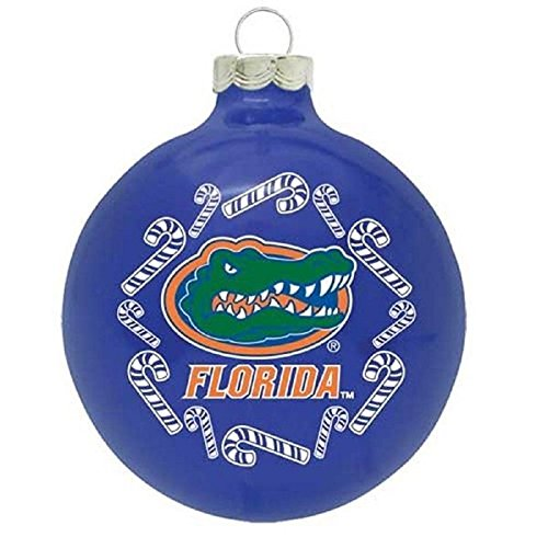 Florida Gators 2 5/8″ Traditional Ornament – Candy Canes