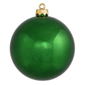 Vickerman 8″ Emerald Shiny Ball Ornament
