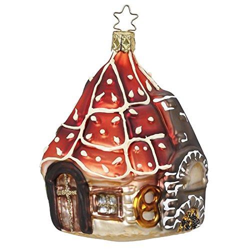 Lebkuchenhaus Gingerbread House Christmas Ornament Inge-Glas