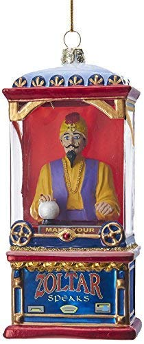 Kurt Adler Kurt S. Adler 5.5″ Zoltar in Fortune Telling Machine Glass Ornament