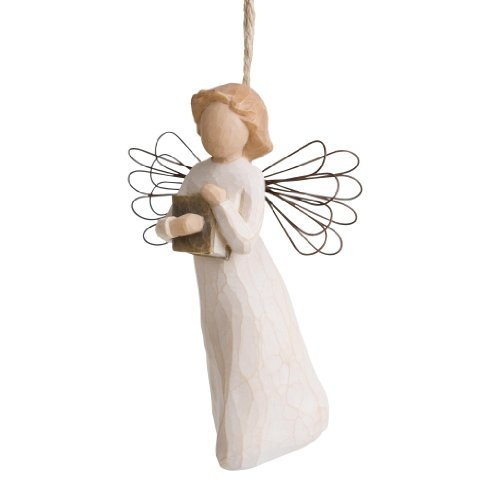 Willow Tree Angel of Learning Ornament by Willow Tree