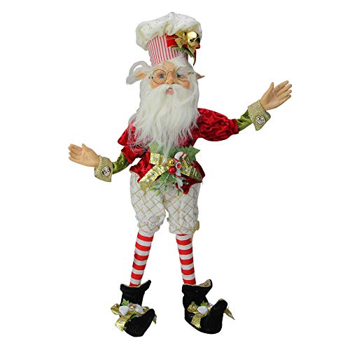 Mark Roberts Collectible Northpole Baker Christmas Elf – Medium 18″ #51-85608