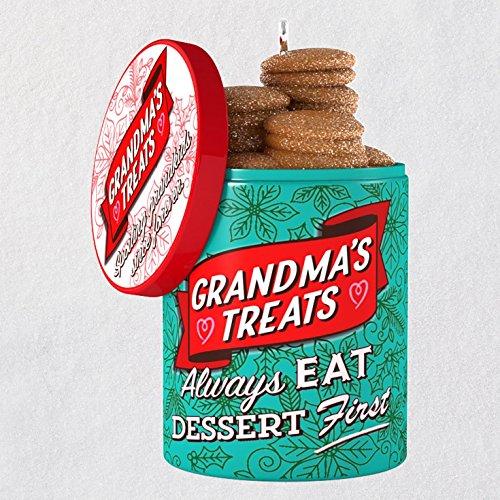 Hallmark Keepsake Christmas Ornament 2018 Year Dated, Grandma's Cookie Jar
