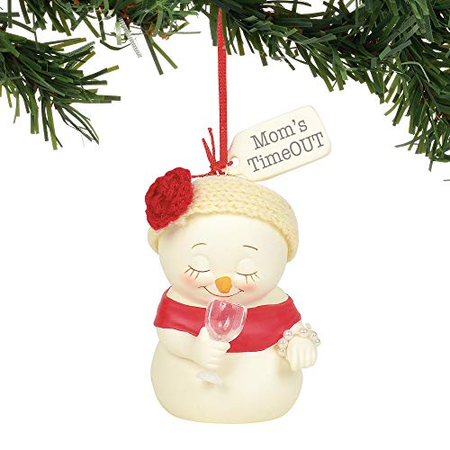 Department 56 Snowpinions Mom's Timeout Hanging Ornament, 3″, Multicolor