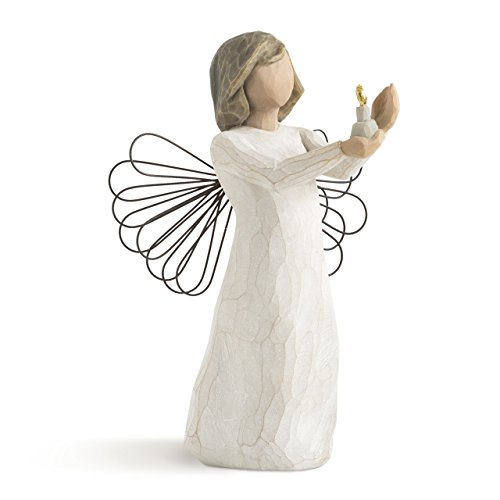Willow Tree Angel of Hope, sculpted hand-painted figure