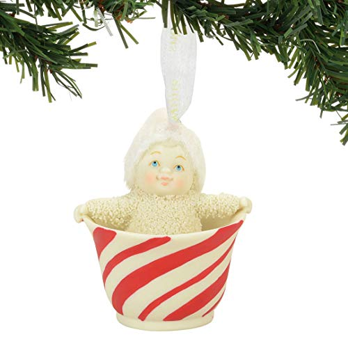"Department 56 Snowbabies ""Sweet Tea"" Porcelain Ornament, 2.36"""