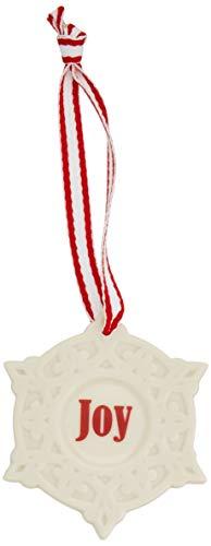 Lenox Joy Snowflake Charm