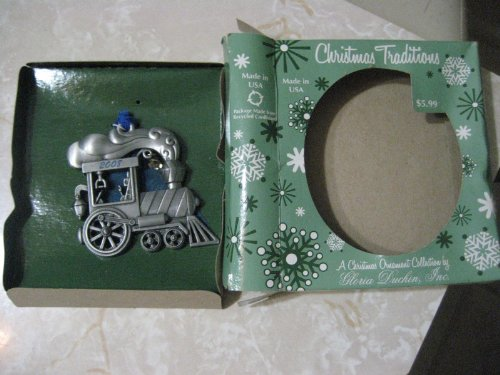 Gloria Duchin Ornament – 2008 Train