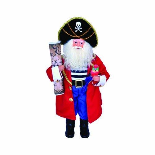 Santas Workshop 9309 18 in. Pirate Santa