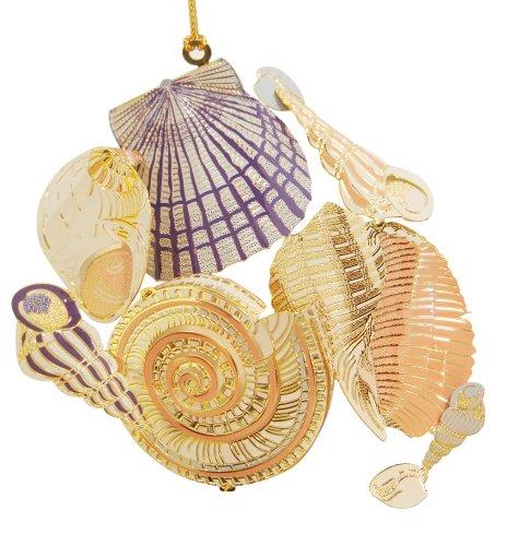 Baldwin Sea Shells 3-1/2-inch Ornament