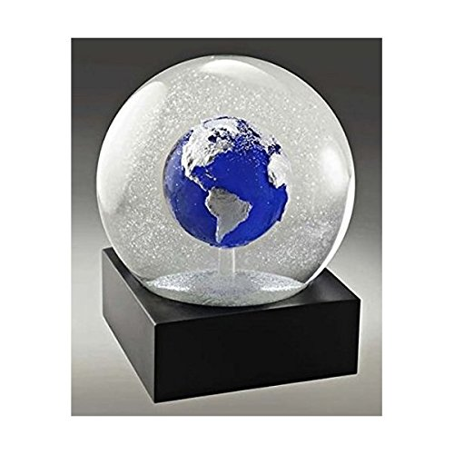 Blue Earth Snow Globe by CoolSnowGlobes®