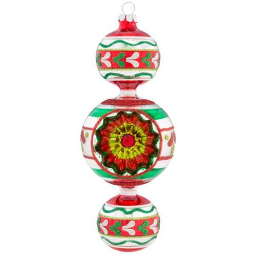 Christopher Radko Holiday Splendor 7″ 1 Piece Shape Glass  Tree Decoration