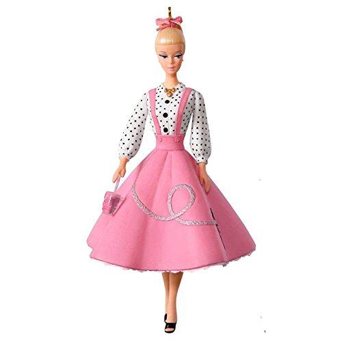 Hallmark Keepsake Christmas Ornament 2018 Year Dated, Barbie Soda Shop