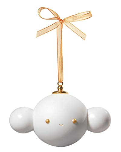 LLADRO – Ornament 5-Friends with you-white-golden