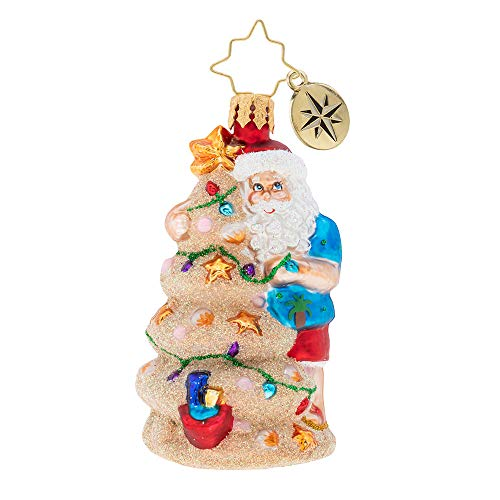 Christopher Radko Sand Gem Christmas Ornament, Multicolor