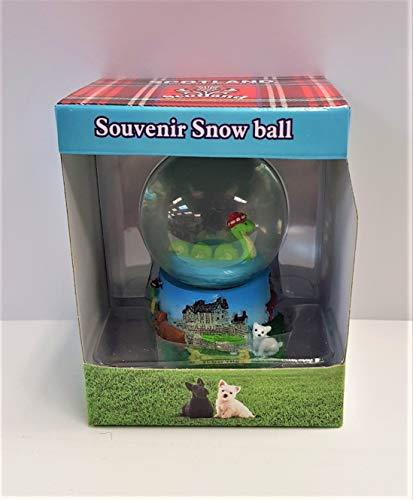 FANCYTHAT & SCIFI PLANET Scottish Piper Snowglobe