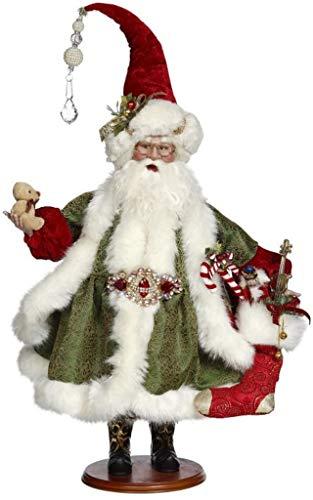 Mark Roberts 2018 Santa Collection Santa Filling A Stocking 51-85688 26 Inches