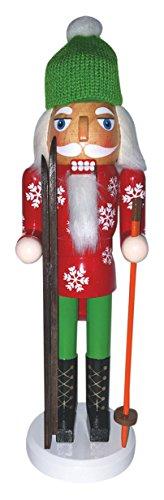 Santa's Workshop 70918 Ski Bum Nutcracker, 14″