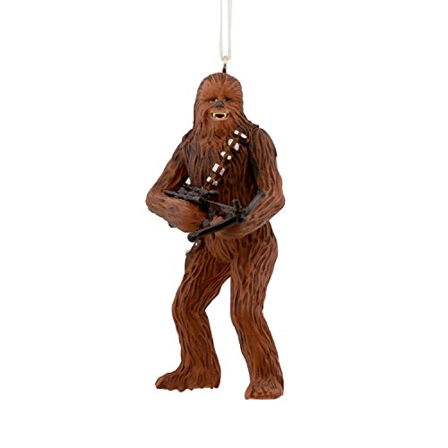 Hallmark Christmas Ornament Star Wars Chewbacca with Bowcaster, Chewbacca, Chewbacca