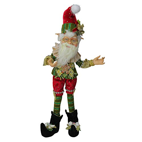 "Mark Roberts Collectible Northpole Jester Christmas Elf – Small 13"" #51-85612"