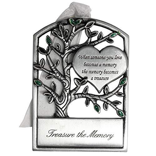 Gloria Duchin Memorial Tree Christmas Ornament, Silver