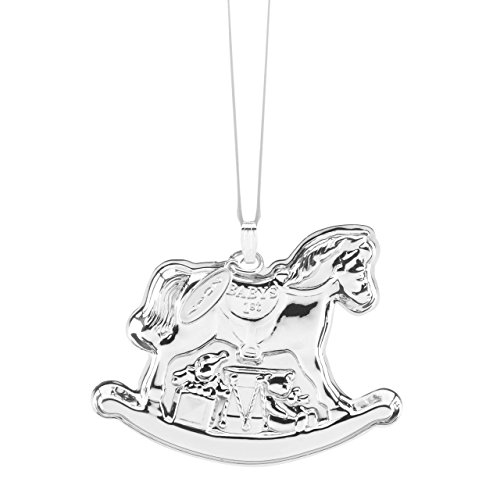 Reed & Barton 2017 Baby's 1st Rocking Horse Ornament