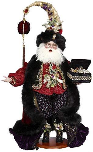 Mark Roberts 2018 Santa Collection Glittering Jewels Santa 51-85672 26 Inches
