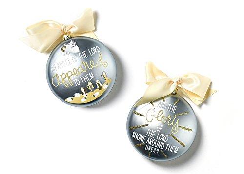 Coton Colors The Birth Of Christ Glass Ornament – Luke 2:9