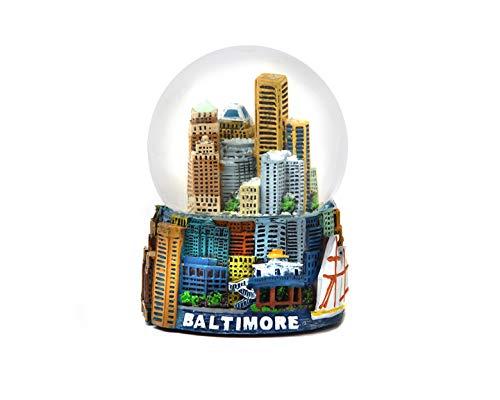 Baltimore Maryland Snow Globe 65MM