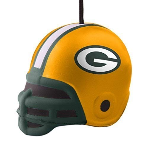 Topperscot Green Bay Packers Squish Helmet Ornament