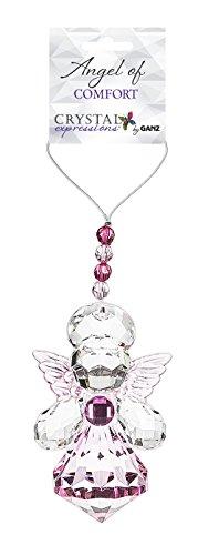 Ganz Crystal Expressions Angel Ornament – Pink