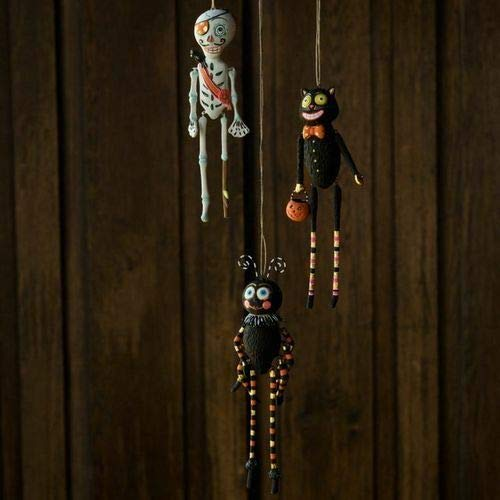 180 Degrees VI0155 7″ Dangle Arms Legs Halloween Icon Jingle Ornament Decoration Fun