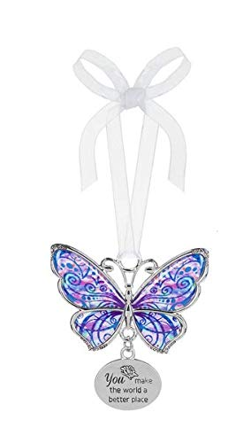 Ganz Butterfly Ornament You Make The World a Better Place