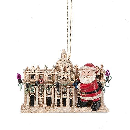 Midwest-CBK Santa at Saint St Peters Basilica Ornament 138015