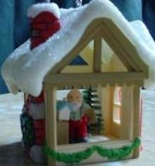 Santa's Workshop 1982 hallmark ornament