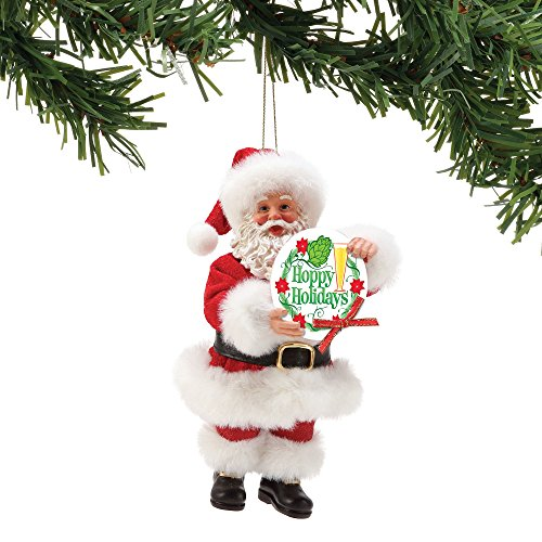 Department 56 Possible Dreams Hoppy Holidays. Hanging Ornament, Multicolor (6002160)