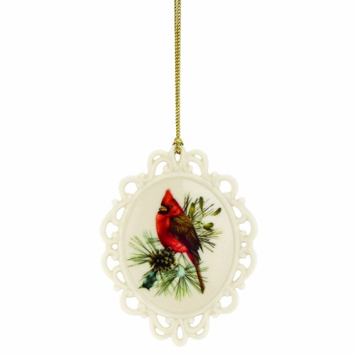 Lenox Winter Greetings Cameo Ornament