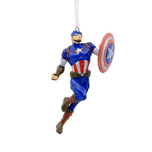 Hallmark Christmas Ornaments, Marvel Avengers Captain America Ornament