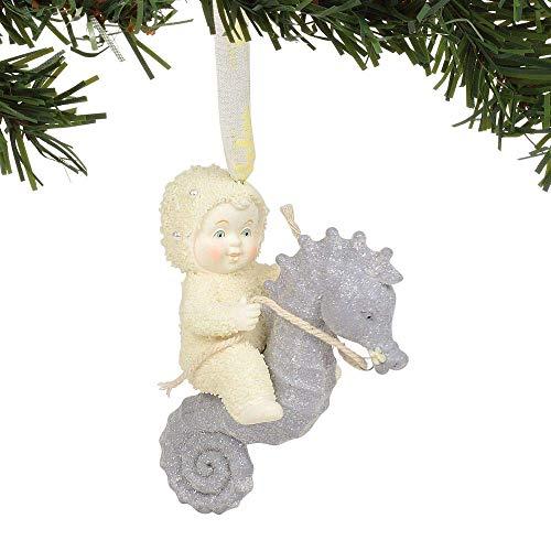 Department 56 Snowbabies Seahorse Hanging Ornament, 3.375″, Multicolor