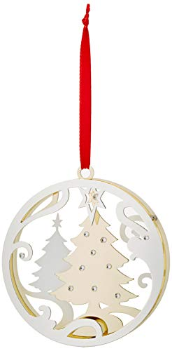 Lenox Stamped Tree Ornament